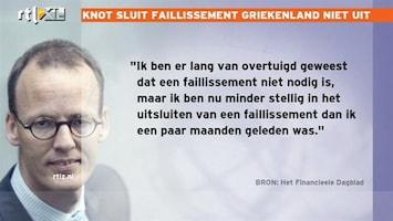 RTL Nieuws DNB houdt rekening met failliet Griekenland
