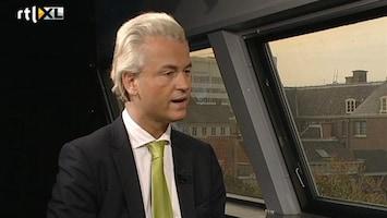 RTL Nieuws Wilders: dit is een verstandshuwelijk