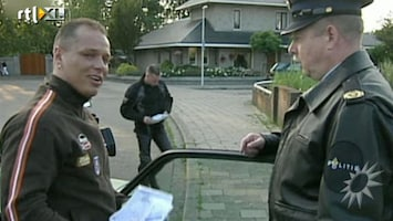 RTL Boulevard Oh Oh Michael in Stop! Politie