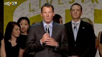 RTL Nieuws Armstrong: Het is weleens beter met me gegaan