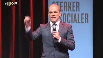 RTL Nieuws Samsom feliciteert Rutte met uitslag