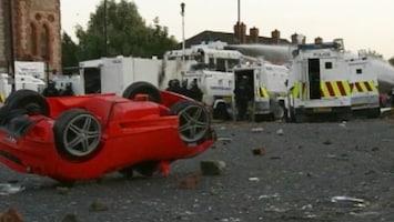 RTL Nieuws 26 Agenten gewond bij rellen Belfast