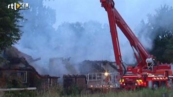 RTL Nieuws Drentse boerderij verwoest door brand