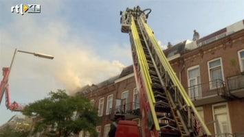 RTL Nieuws Brand in acht woningen tegelijk in Rotterdam