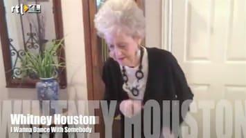 Editie NL Bejaarde doet Whitney Houston na