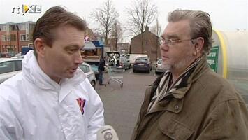 RTL Nieuws Partijtop VVD geeft plaatselijk uitleg over commotie