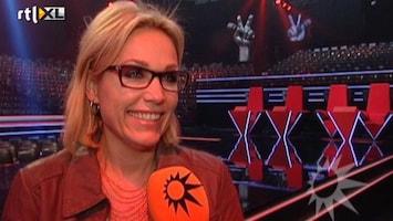 RTL Boulevard Tanja Jess voelt zich net een voetbalvrouw