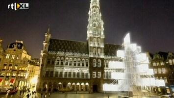 RTL Nieuws Inwoners Brussel in actie tegen nieuwe 'kerstboom'