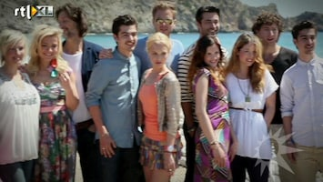 RTL Boulevard Castpresentatie Verliefd op Ibiza