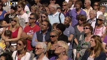 RTL Nieuws 'Ik kan het niet alleen' op herdenking Alphen