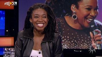 RTL Boulevard The Voice-winnares Leona te gast
