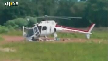 RTL Nieuws Helikopter total loss bij landing