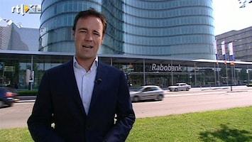 """RTL Nieuws """"Rabobank moet keihard de broekriem aanhalen"""""""