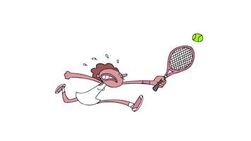 Doodle - Tennis