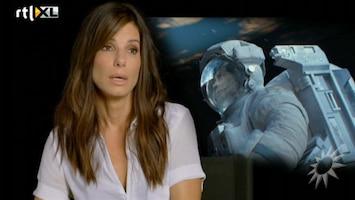 RTL Boulevard Sandra Bullock en George Clooney in hogere sferen