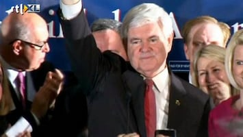 RTL Nieuws Newt Gingrich wint in South Carolina