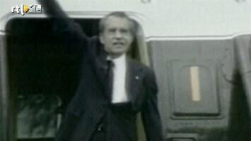 RTL Nieuws 'Nixon Tapes' geven kijkje achter schermen Witte Huis