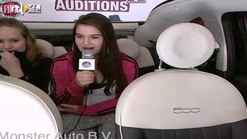 X Factor Fiat 500 Backseat Auditions: Shanelle