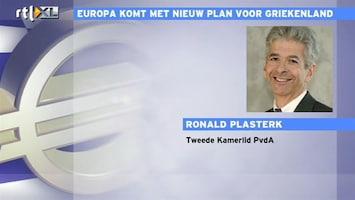 RTL Z Nieuws Plasterk: we hebben niet veel alternatieven voor Grieken