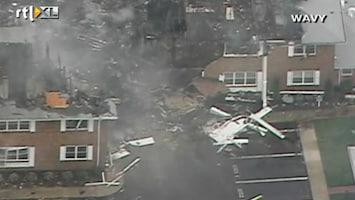 RTL Nieuws F18 stort neer op appartementen Virginia
