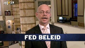 RTL Z Voorbeurs Verklaring Fed is meevaller, maar dat is niet terug te zien in de beurskoersen