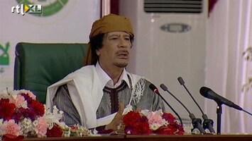 RTL Nieuws Khadaffi: 'Tripoli redden van rebellen'