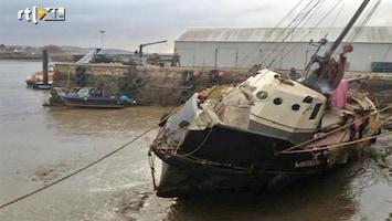RTL Nieuws Nederlands boot nog steeds spoorloos op Noordzee