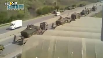 RTL Nieuws Syrische tanks ingezet in Banias