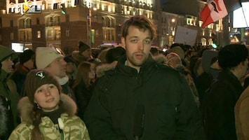 RTL Nieuws Demonstraties tegen zege Poetin