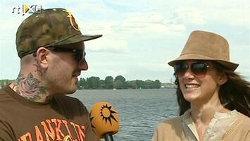 RTL Boulevard Saunders en Soraya in het huwelijksbootje