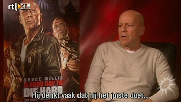 RTL Boulevard Bruce Willis over Die Hard 5
