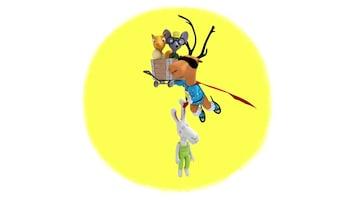 Super Caribou Jeremy maakt snelheid