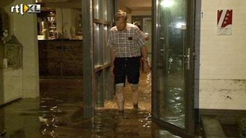 RTL Nieuws Hotels ondergelopen door overstroming Zuid-Limburg