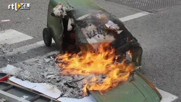 RTL Nieuws Brussel vol brandende kliko's