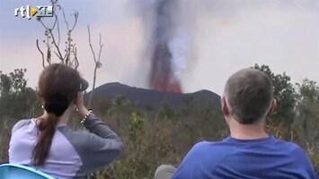RTL Nieuws Vulkaanuitbarsting is toeristische attractie