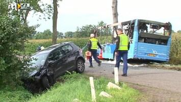 RTL Nieuws Gewonden na busongeluk bij Rouveen