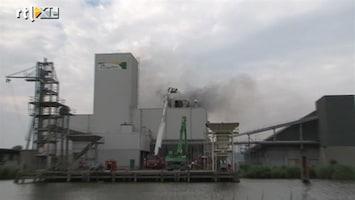 RTL Nieuws Brandweer druk met hardnekkige brand