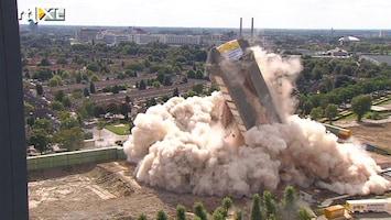 RTL Nieuws Oude Philipstoren Eindhoven tegen de vlakte