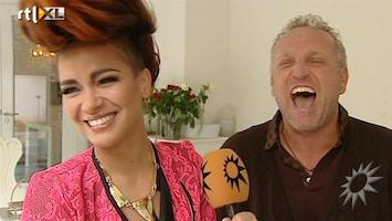 RTL Boulevard Gordon en Eva Simons over X Factor