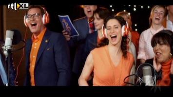 RTL Boulevard Officiële release van het Bedanklied voor Beatrix