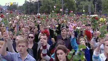 RTL Nieuws Massale herdenking in Oslo