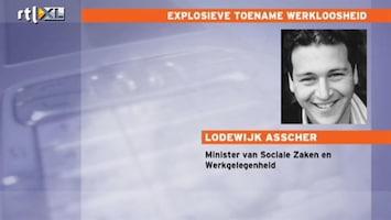 RTL Nieuws Asscher: Plannen regeerakkoord niet wijzigen