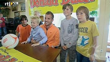 RTL Boulevard Kids interviewen Rafael van der Vaart