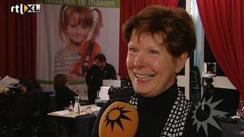 RTL Boulevard Maartje van Weegen interviewt Maxima