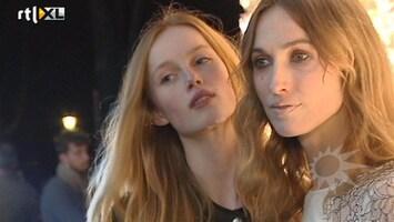 RTL Boulevard Op de rode loper bij lancering Vogue