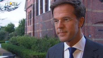RTL Nieuws Mark Rutte: ik zat fout