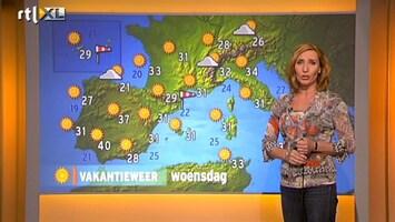 RTL Nieuws Vakantieweer: heet en zonnig in Zuid-Europa