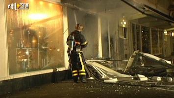RTL Nieuws Ontruimingen na explosie en brand Haagse supermarkt