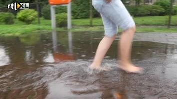 RTL Nieuws Winschoten onder water