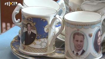 RTL Nieuws Slaatje slaan uit Royal wedding